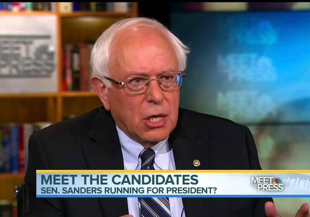 bernie sanders on meet the press today