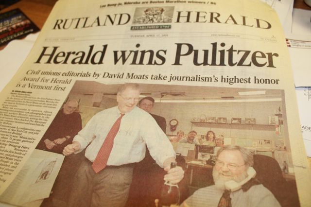 Rutland Herald Fires News Editor Over Coverage of Paper's Woes ...
