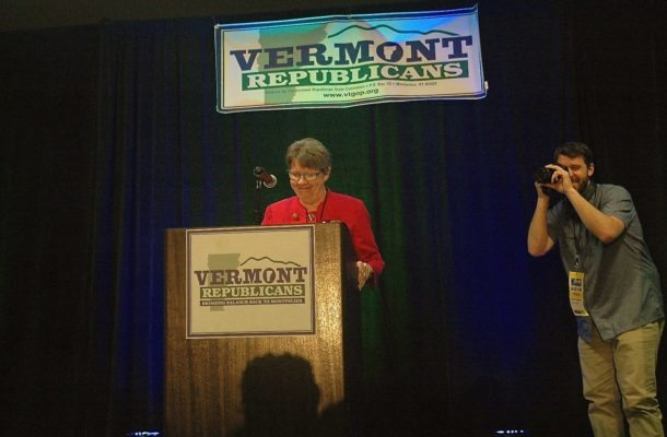 Deborah bucknam two sides and shes clear which shes on vtdigger deborah bucknam speaks at the vermont republican convention in may file photo by jasper cravenvtdigger solutioingenieria Gallery