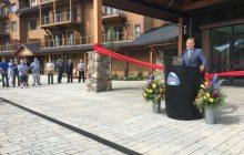 Shumlin celebrates opening of Burke Mountain Hotel