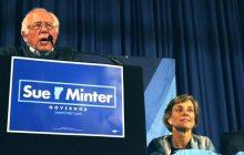Bernie Sanders, Sue Minter