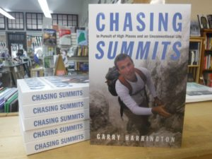 "Garry Harrington's book ""Chasing Summits"""
