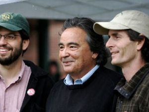 David Zuckerman, Anthony Pollina, Chris Pearson