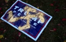 Trump sign marked with swastika found near Hillel Center