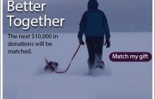 Help Us Meet Our $10K Match Challenge