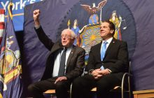 Sanders' college plans picked up by New York state