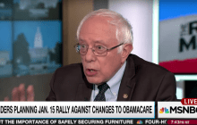 Bernie Briefing: Sanders presses Jan. 15 'day of action'
