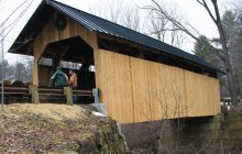 Charlotte covered bridge restoration keeps history alive