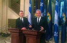 Scott, Quebec premier convene for talks on trade, immigration issues