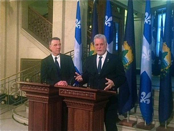 Phil Scott, Phillipe Couillard