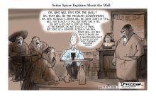 Danziger: Senor Spicer Explains About the Wall