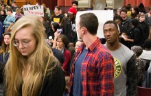 Middlebury College students block controversial speaker