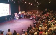 Presentation on Bennington's redevelopment project packed