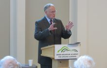 Douglas decries drift toward partisanship