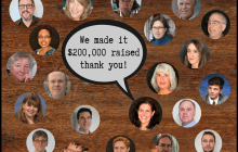 We made it! Thank you for helping us raise $200,512.