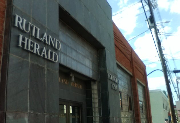 Rutland Herald moving out of Wales Street building