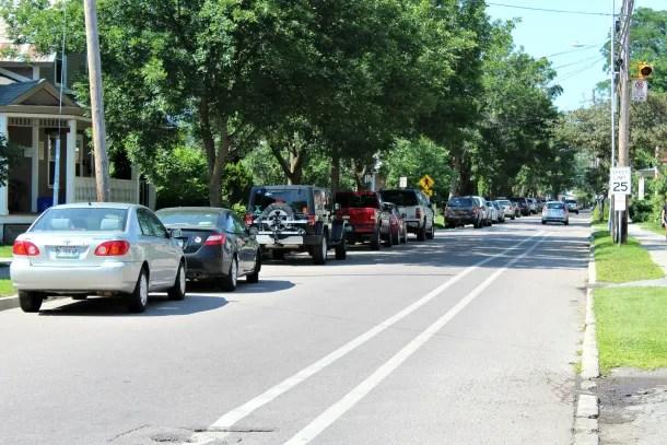 Burlington bike lane