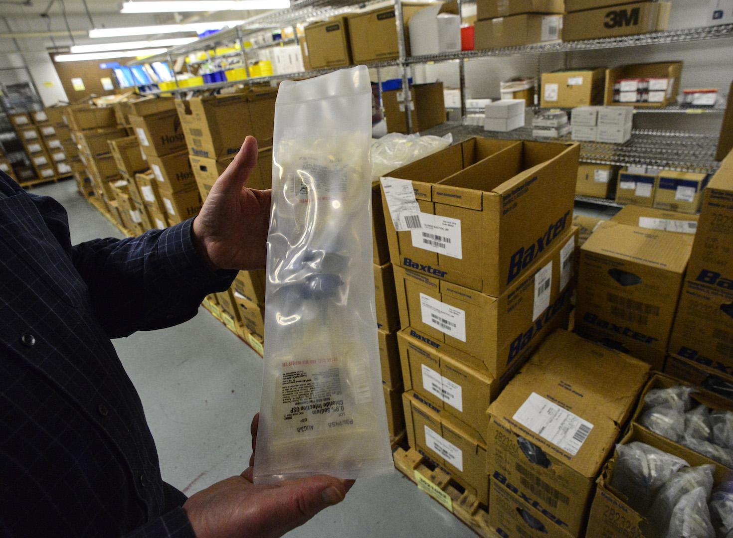 IV shortage being felt nationwide due to Hurricane Maria