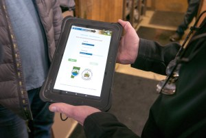 Vehicle inspection tablet
