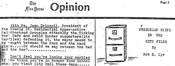 """fbe307b4c34 But a new Enquirer-style obsession had emerged — the mayor s personal  relationship with """"Jean Dripsoil"""" (Jane Driscoll"""