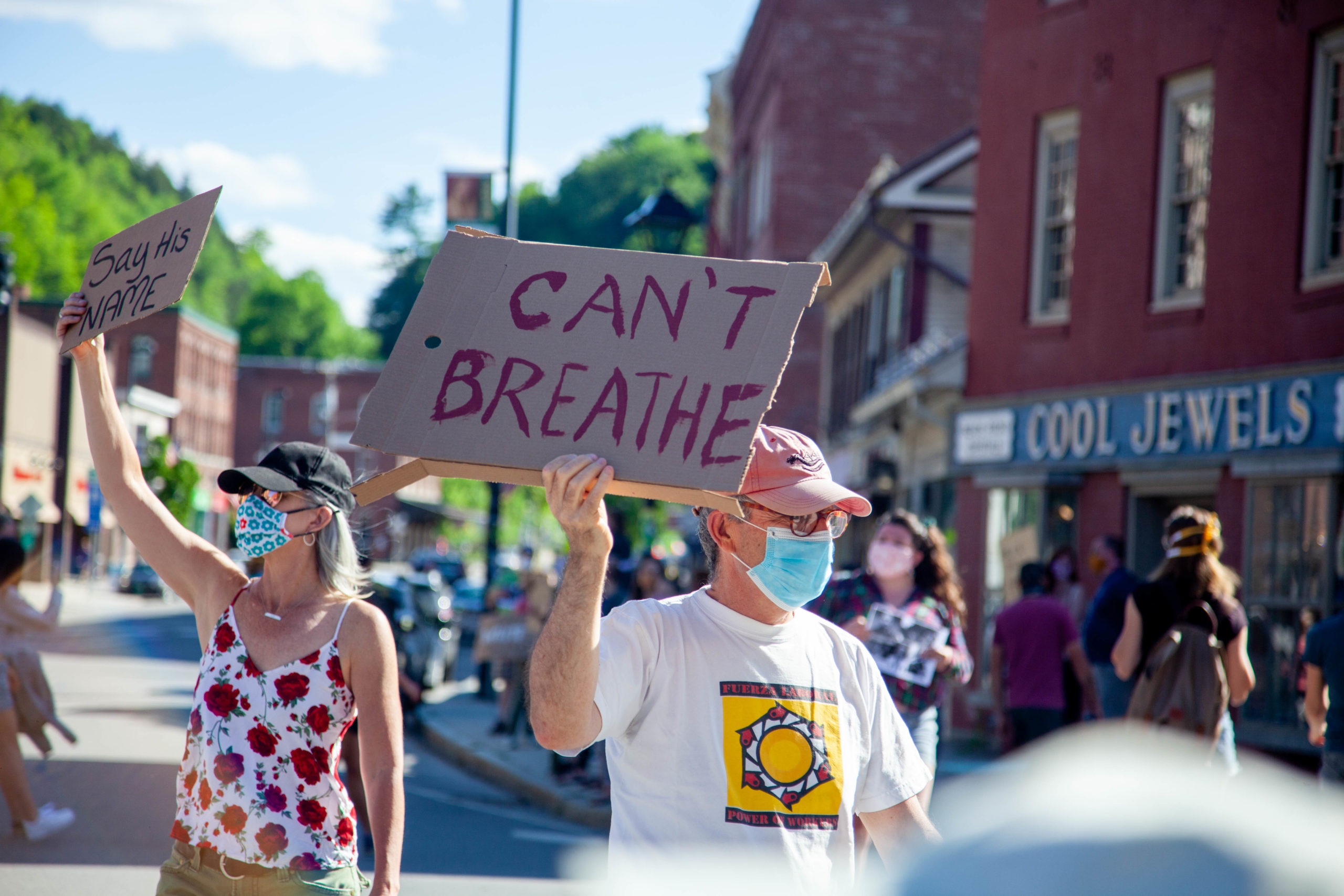Can't breathe sign