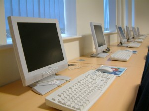 Photo of computer lab.