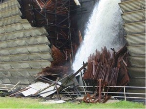 Vermont Yankee cooling tower collapse, 2007