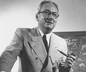 Elmo Roper, a pioneer in the field of market research and opinion polling.