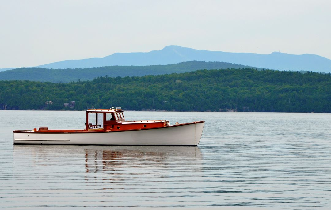 In This State: Thanks to one man's zeal for wooden craft, Lake Champlain gains a lobster boat