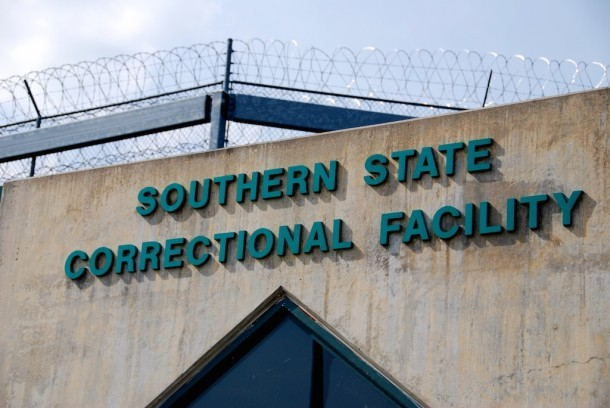 Southern State Correctional Facility in Springfield, Vt. Photo by Elizabeth Hewitt/VTDigger