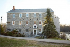 The Old Stone Mill hosts the college's entrepreneurial program. Photo courtesy of Middlebury College.