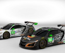 Acura Unveils NSX GT3 Race Liveries