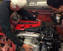 Test Fitting the K20C1 Type R Engine – EF, DA and Insight