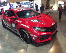 Honda Booth at 2017 SEMA Show