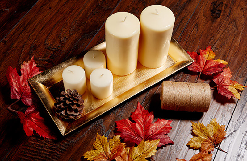 фоторамки свечи осень нашем