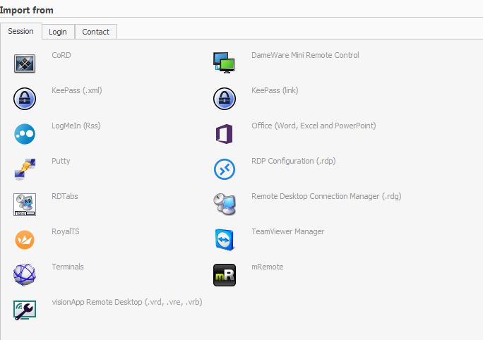 Remote Desktop Manager : Centralisation de connexions