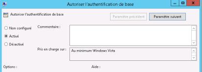 Authentification de base