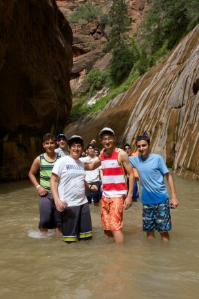 Zion hike - 16