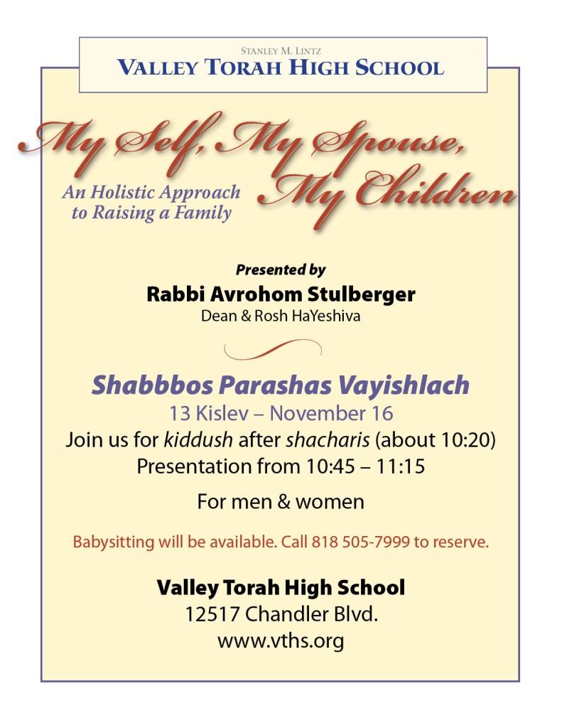 Shabbos Family presentation