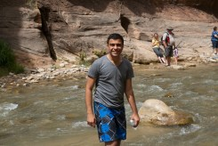 Zion hike - 12