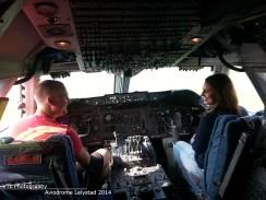Cockpit Boeing 747