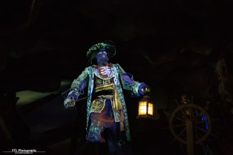 Captain Barbossa Pirates of the caribbean Paris