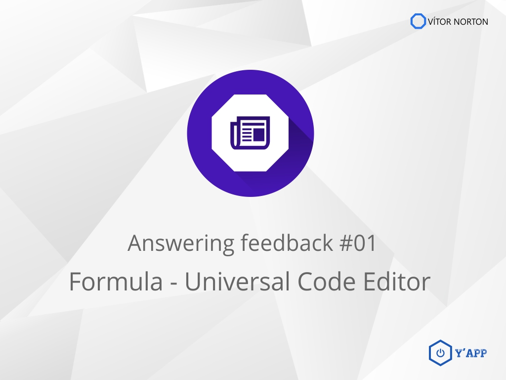 Answering feedback #01: Formula v2.0.144