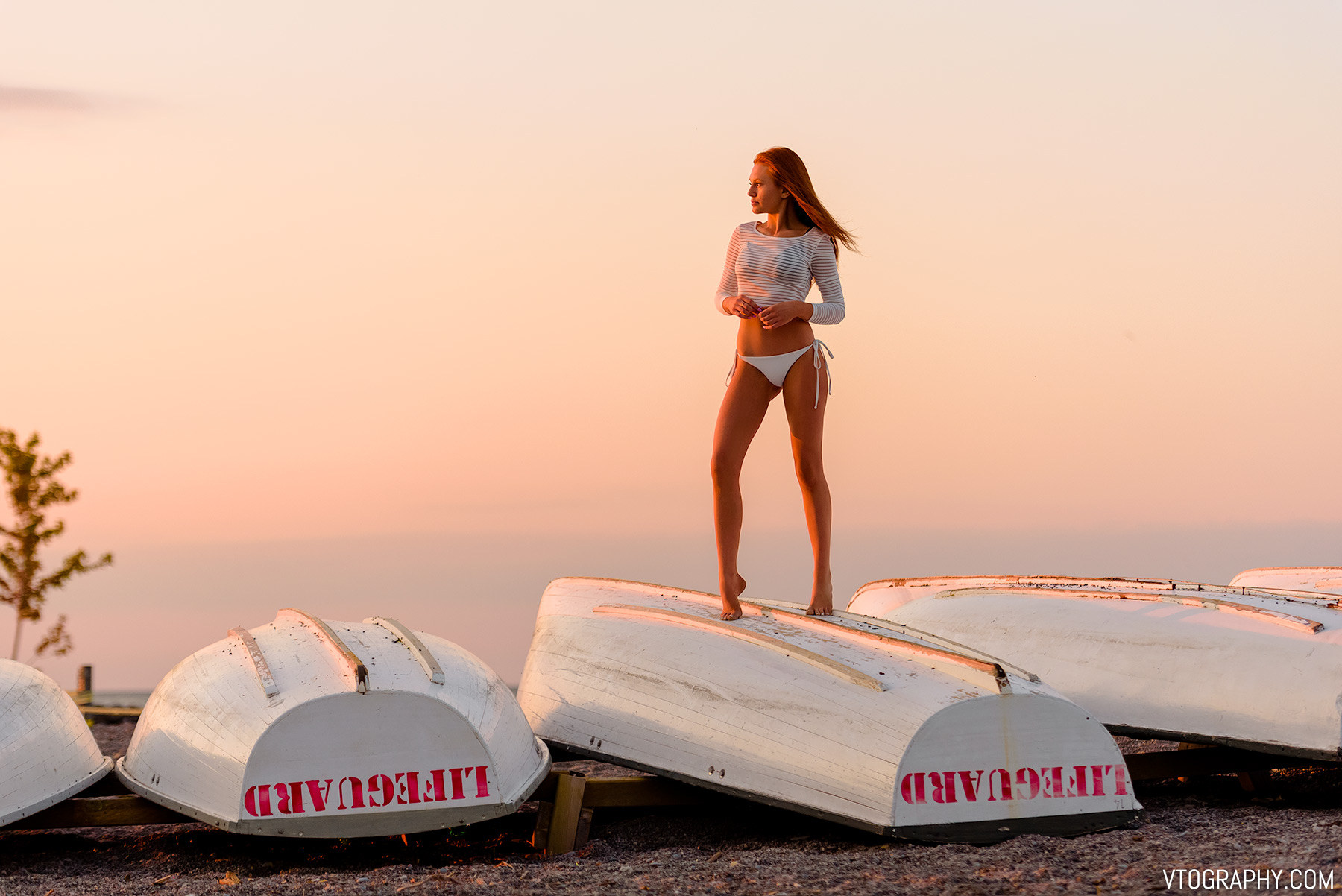 Hannah — sunrise photo shoot