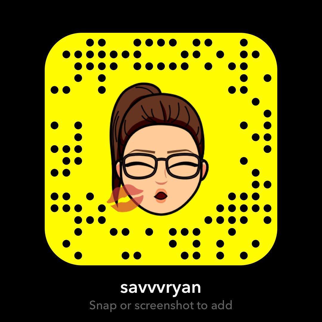 savvvryan on Snapchat