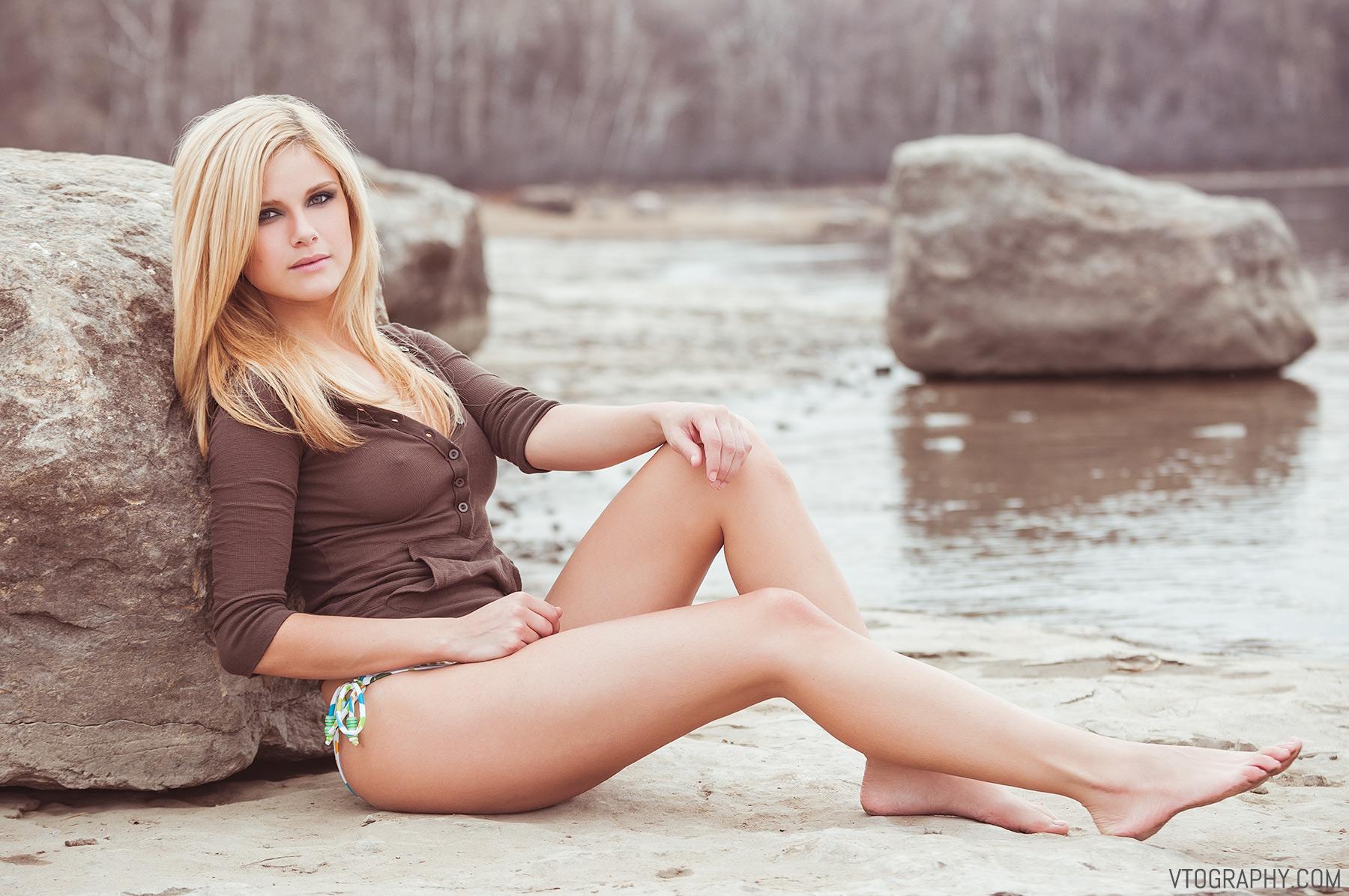Adriana Isabel (Adriana Boy) beach photo shoot