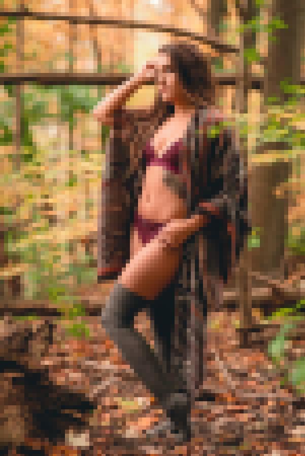 Victoria Nude Fall Photo Shoot