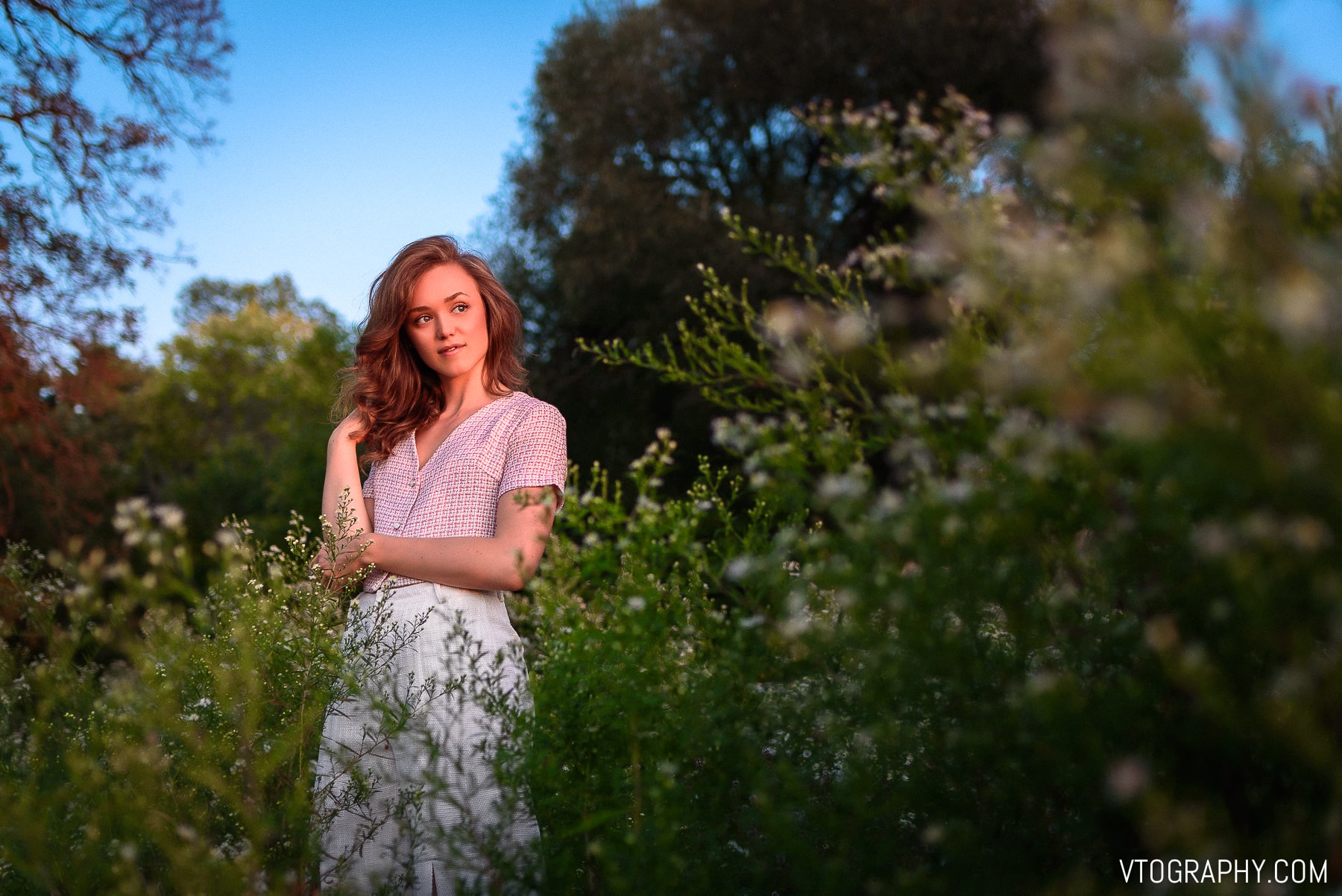 Tamron 35mm golden hour portraits with Kathryn