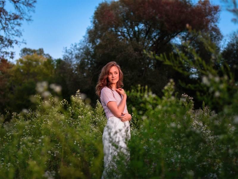 Kathryn golden hour portraits