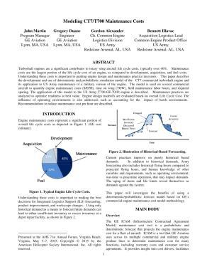 medium resolution of modeling ct7 t700 maintenance costs